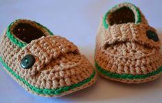 Es un Mundo Amigurumi: Zapatitos de Bebé