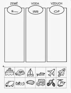 Cutting Activities, Abc Activities, Indoor Activities For Kids, Preschool Worksheets, Kindergarten Activities, Educational Activities, Preschool Activities, Transportation Activities, Teaching Kids