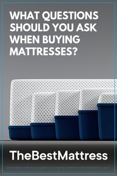 Read our mattress comparison to learn about the differences in memory foam, latex, and innerspring mattresses and find the most comfortable bed for you. Best Mattress, Mattress Brands, Duplex Design, What If Questions, Mattresses, Master Bedroom, Cozy, Diet, Health