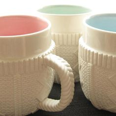 Sweater Mugs by Molla Space <3