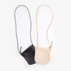 Convertible Dot Pouch by pine and boon. Accessories. Leather bags. Simple and beautiful accessories. Everyday style.