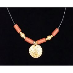 Muisca pendant. Leather necklaces