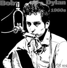 Bob Dylan  Création CB 109