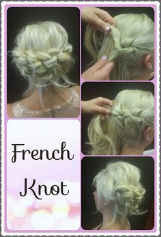 HOW-TO: French Knot Updo