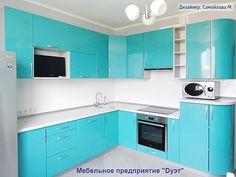 Кухни модерн. Современные кухни в стиле хай-тек. Фото каталог