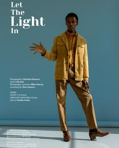 Let The Light In features Sethu N & Jermaine Downer at Storm Models photographed by Christina Ebenezer with styling by Ola Ebiti. Jillian Murray, Brown Leather Shoes, Let It Be, Photography, Style, Inspirational, Magazine, Instagram, Swag