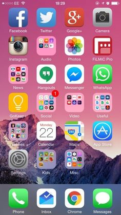 16 Best Iphone Homescreen Layout Images Homescreen Layout