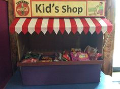 An introduction to the concept of Money through shopping for my kindergarten children.
