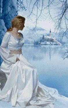 Девушка-Зима - Схемы вышивки - Lambert - Авторы - Портал «Вышивка крестом»