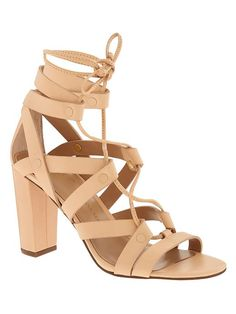 Eryn Heeled Sandal - just picked up these beauties for 25% off at BR! Use code BRSAVE