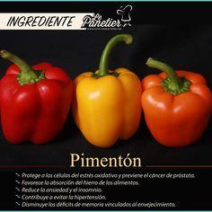 Comidas con ingredientes saludables que logran combinaciones deliciosas #IngredienteLePanetier #Pimentón