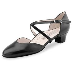 Werner Kern Damen Tanzschuhe Felice - Leder Schwarz - cm Cuban - Made in Italy Lets Dance, Character Shoes, Dance Shoes, Sneaker, Sandals, Dancing, Fashion, Diamond, Shoes Sport