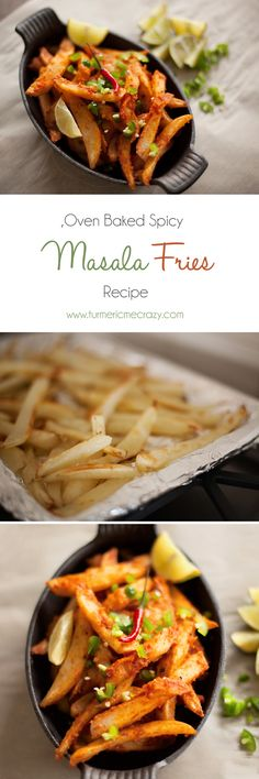 These deliciously spicy masala fries are the perfect side for bbq season!