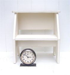 My Step Stool - Vintage Style Two Step Stool, $69.99 (http://www.mystepstool.com/vintage-style-two-step-stool/)