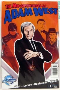 No Slice! Mis-Adventures of Adam West #1 Batman Bluewater Comics (2011) FREE Shipping + Spin2Win