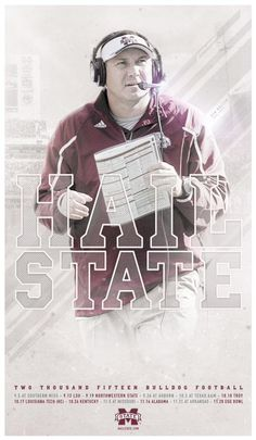 Mississippi State 2015 Football Poster 1