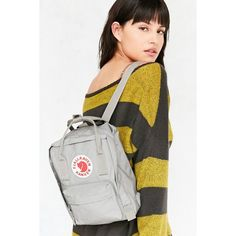 Fjallraven Kanken Mini Backpack (86 AUD) ❤ liked on Polyvore featuring bags, backpacks, mini backpack, miniature backpack, fjallraven backpack, shoulder strap backpack and mini bag