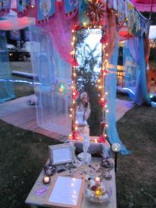 Faerie Looking Glass & Aphrodite Altar