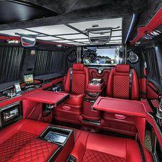 Limousine interior, truck interior, fancy cars, all cars, luxury interior. Van Interior, Luxury Interior, Truck Interior, Interior Design, Jet Privé, Luxury Van, Luxury Jets, Kombi Home, Lux Cars