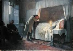 Madame Bovary death bed