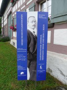 Hermann Hesse Musseum, Gaienhofen, Germany..♔..