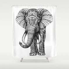 És un elefant blanc i negre fet amb la tècnica zentangle Art Prints, Elephant Art, Animal Art, Sketches, Drawings, Zentangle, Art, Zentangle Art, Elephant Print Art
