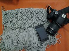 About Macrame ..: how to make macrame handbags curved lid