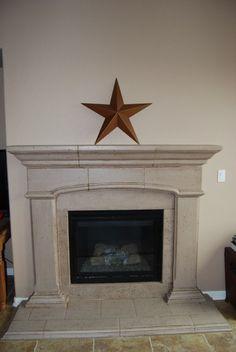 Fireplace update and Organizing