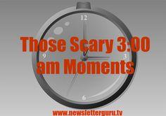 Those scary 3:00 am moments #newsletterguru #marketing