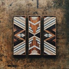 A commission for Nicole. Made from wood rescued from a home built in 1926 in the East Nashville neighborhood of Nashville, TN. Wooden Wall Art, Wooden Decor, Wood Wall, Southwestern Quilts, Barn Quilt Patterns, Mural Wall Art, Inspirational Wall Art, Barn Quilts, Diy Door