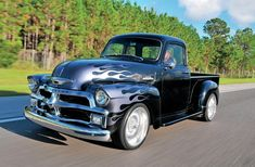 Just Truckin' — taylormademadman: 54 Chevy 3100 Custom Check Out...