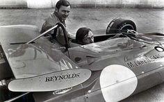 Bruce McLaren, Chris Amon and the first McLaren indycar . .M-15
