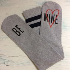 A great way to ask your special someone with these cozy & comfy socks!    Shop this look at The Loft in store or online...
