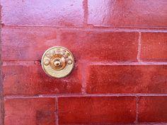Vintage Press Doorbell - Front Porch Updates: via Midtown Modern KC