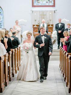 A classic church ceremony | Brides.com