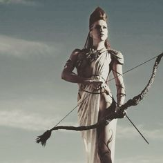 """""""To know Artemis is to know the Holy Wild, to root our soul-gifts deep into Gaia's loam, and to stop apologizing for embodying our own, ever-evolving truth."""" — @wolfwomanwitch {image : @artemisdianawitch} #artemis #wakeupanddream"""