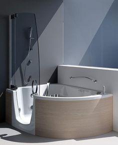 cool corner tub design