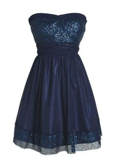 Adorable; blue with sparkle trim and accents.