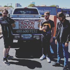 """36k Likes, 223 Comments - Imagine Dragons (@imaginedragons) on Instagram: """"thank heavens there are professionals to handle the dirty work #cutbacks…"""""""