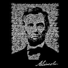 Men's Zip-up Hooded Sweatshirt - Abraham Lincoln - Gettysburg Address ; Abraham Lincoln Created out of the Entire Gettysburg Address. Mens Zip Up Hoodies, Hooded Sweatshirts, Men's Hoodies, Small Tote Bags, Large Tote, Abraham Lincoln Gettysburg Address, Word Art, November 2013, Men's Apparel