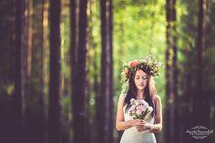 Leśna sesja ślubna  / Wedding session in the forest |  Kamila Panasiuk Fotografia www.kamilapanasiuk.pl