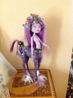 Monster High Repaint. Silaya by BeaNMeDolls on Etsy, SOLD