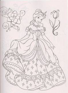 dibujos princesas - domagoni - Picasa Web Albums
