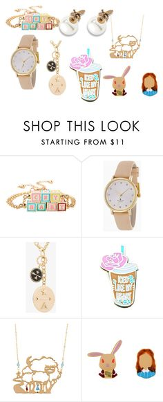 """""""234"""" by lena11808 on Polyvore featuring мода, Kate Spade, Foundrae и SugarLuxeShop"""