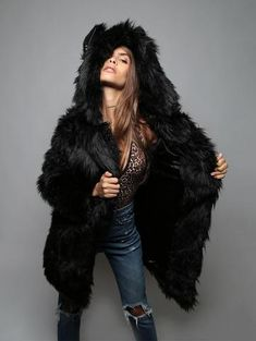b4a0cd043058 49 Best Spirithoods images in 2019   Fur, Dressy outfits, Fashion ...