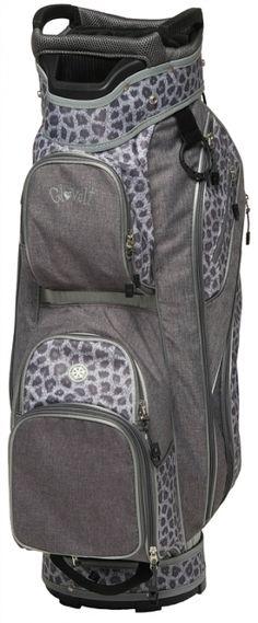 Glove It Ladies Golf Cart Bags - Snow Leopard