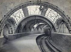 City Hall station, IRT Lexington Avenue Line, 1904, courtesy NYC Municipal Archives