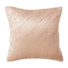 Donna Karan Awakening Silk Down Throw Pillow ($105) ❤ liked on Polyvore featuring home, home decor, throw pillows, accessories, natural, silk throw pillows, embroidered throw pillows, donna karan and silk accent pillows