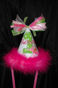 1st Birthday Party Hat Super Cutie Pie by sunshinedaydream4u, $29.95
