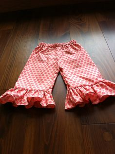 Ruffle Pants Pattern $7.50
